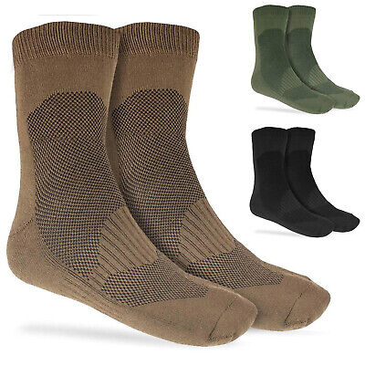 £8.30 • Buy Coolmax Breathable Lightweight Military Army Mid Length 8 Inch Boot Shoe Socks