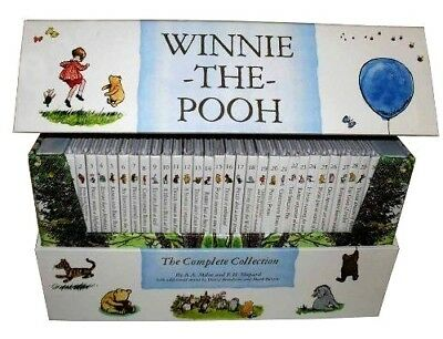 £29.90 • Buy Winnie The Pooh The Complete Childrens Collection 30 Books Box Gift Pack Set