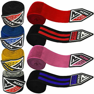 AU16.99 • Buy RDX Bandages MMA Boxing Inner Gloves Quick Hand Wraps Straps Martial Arts
