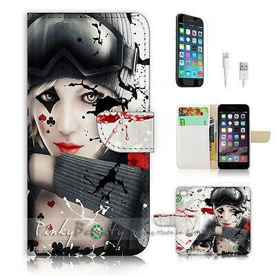 AU12.99 • Buy ( For IPhone 6 Plus / IPhone 6S Plus ) Case Cover P0730 Poker Girl