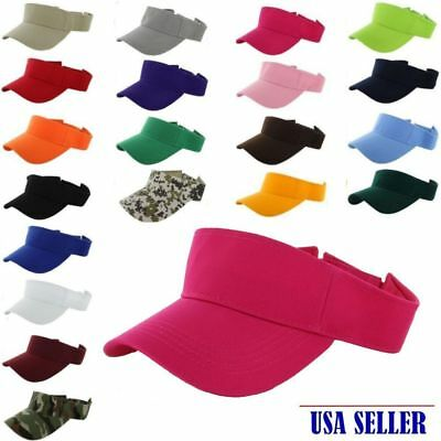 $4.95 • Buy Nwt Sports Baseball Visor Sun Protection Adjustable For Men /women 20+colors