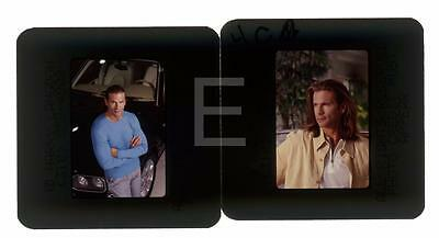 483J 2 Lorenzo Lamas Harry Langdon Transparency Lot W/rights • 9.25£