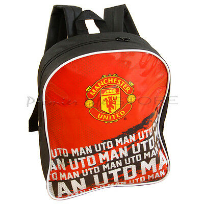 Manchester United FC Backpack School Rucksack New Gift • 12.98£