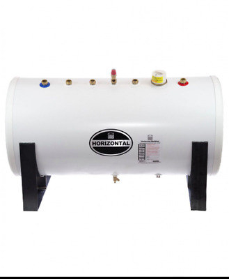 £716.25 • Buy Unvented Horizontal Hot Water Cylinder Inc Exp Vessel