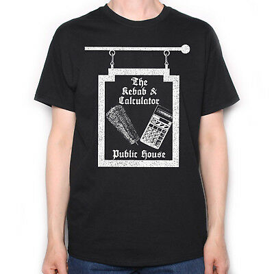 Inspired By The Young Ones T Shirt - Kebab & Calculator Pub Sign Cult TV Comedy • 13.99£