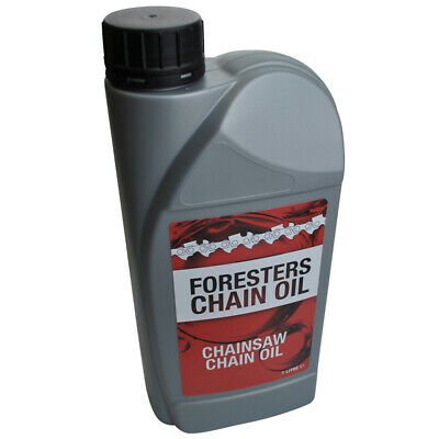 £5.95 • Buy Chain Oil 1 Litre Chainsaw Super Tacky Guide Bar For All Makes Of Saws