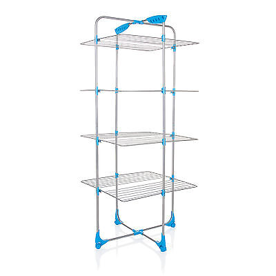 £26.99 • Buy Minky Tower Indoor Airer 30m Drying Space - Silver