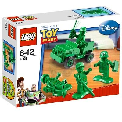 Lego Toy Story 7595 Army Men On Patrol - Jeep & Green Army Minifigures - NEW • 36.36£