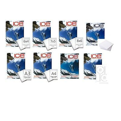 £6.87 • Buy Ice Professional Inkjet Photo Paper - All Sizes And Finishes  - Choose Type