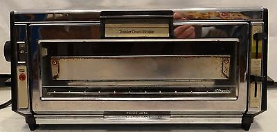 £39 • Buy JC Penney BROILER OVEN TOASTER Mini Oven RV CAMPING  Dorm Stainless Toast-R-Oven