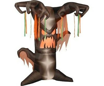 $ CDN96.78 • Buy Halloween Inflatable 8' Animated Haunted Tree By Gemmy