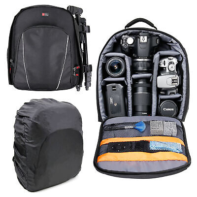 Rucksack/Backpack For Nikon Coolpix P900 With Customizable Interior & Raincover • 21.99£