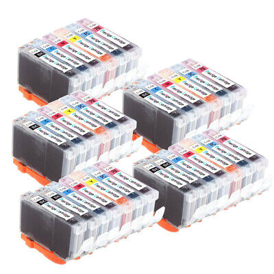 £18.98 • Buy 32 Compatible Ink Cartridges CLI8 For Canon MP950 IP6600D Pro 9000 Mark II