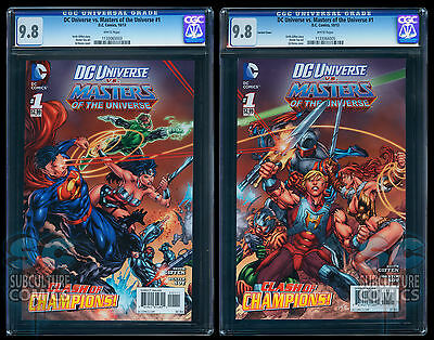 $199.99 • Buy Dc Vs Masters Of The Universe #1 Cgc 9.8 - 2-book Set - Both Covers - Panoramic