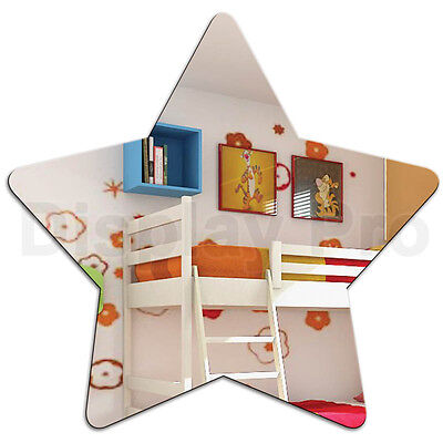 Kids Star Mirror Acrylic Bedroom Decor For Children • 16.33£