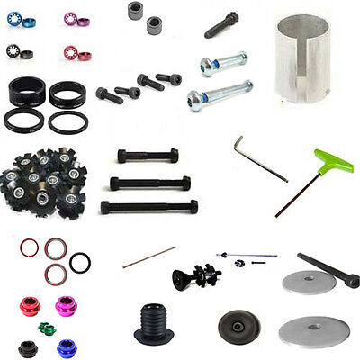 £5.98 • Buy Stunt Scooter Scs Shim Cap Clamp Axle Ics Bolt Headset Spacer Alan Key Bar End