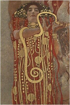 $ CDN7.51 • Buy Hygeia Fantasies And Crises GUSTAV KLIMT Vintage Painting ART POSTER 24X36