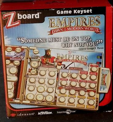 £7.20 • Buy Ideazon / SteelSeries Zboard Empires Dawn Of The Modern World Game Keyset - NEW
