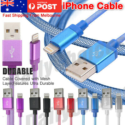 AU4.95 • Buy IPhone XS XR X 8 7 Plus Data Charger USB Cable Cord IOS11 IOS 10 AU