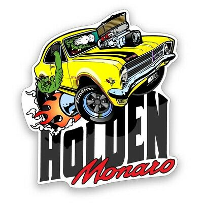 AU4.50 • Buy Holden Vinyl Stickers - HK Monaro