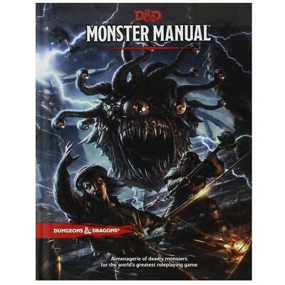 AU53.85 • Buy Dungeons & Dragons Monster Manual 5th Edition