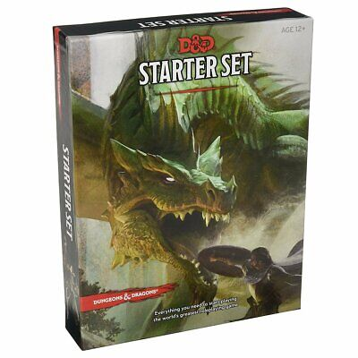 AU29.94 • Buy Dungeons & Dragons Starter Set 5th Edition