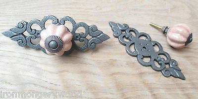Decorative Fancy Retro Vintage Cupboard Cabinet Drawer Door Knobs Pull Handles • 3.99£
