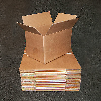 9 X6 X6  New SINGLE WALL Mailing Postal Packing Cardboard Boxes - Multi Listing • 7.80£