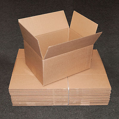 New 12x9x6 Single Wall Mailing Postal Packing Cardboard Boxes - Multi Listing • 17.50£