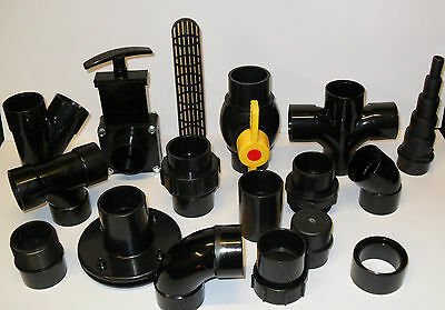 1.5  Solvent Weld Pipe And Fittings. Koi Fish Pond Filter • 14.99£