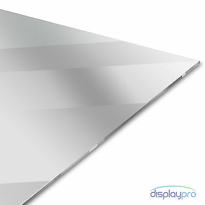 Silver Acrylic Mirror Perspex Sheet Plastic Material Panel A6 A5 A4 A3  • 4.95£