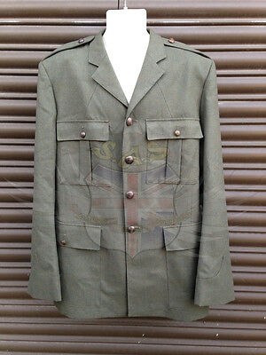 ROYAL MARINES SURPLUS No.5 LOVAT GREEN UNIFORM DRESS TUNIC WITH SUBDUED BUTTONS • 19.99£