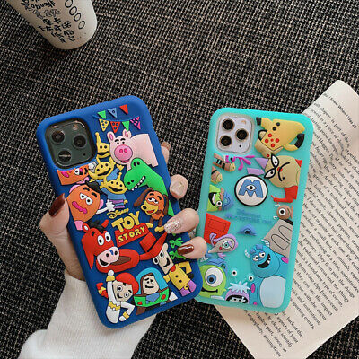 AU12.74 • Buy Cute Disney Toy Story Monsters Case Cover For IPhone 12 11 Pro Max XS XR 6 7 8+