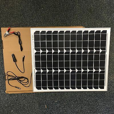 £80 • Buy 40 W MONOCRYSTALLINE  SOLAR PANEL 40 WATTS  BATTERY CHARGER  12V PV-with DIODE