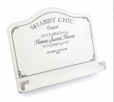 LP28192- Home Sweet Home Shabby Chic Wooden Recipe Book Stand- Great Price! • 6.99£