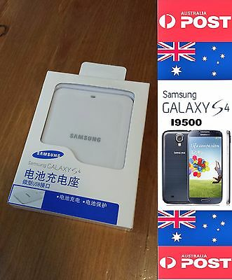 AU16 • Buy Original Charger For Samsung Galaxy S4 Battery I9500 White - Local Seller