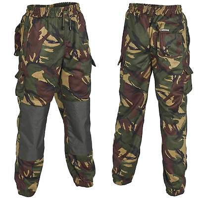 £17.95 • Buy Mens Camo Fishing Joggers Jogging Bottoms Shooting Hunting Trousers W30-38