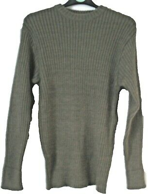 $27.80 • Buy British Army Surplus Army Jumper Green Pullover Wool Military Clothing Cadet