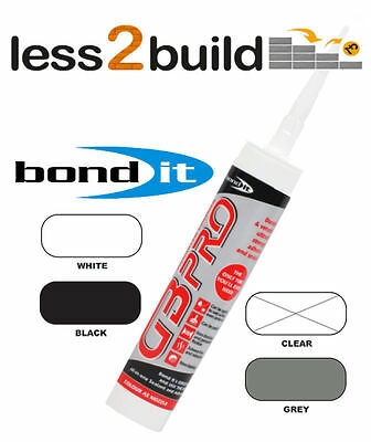 Bond It GB Pro Strong Sealant OdourLess Vivarium Adhesive Under Water Silicone • 12.34£
