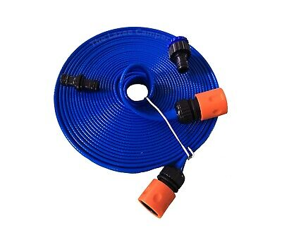 Caravan Mains Water 10 M Extension FLAT Hose For Aqua Roll Or Waterhog Aquacaddy • 17.95£