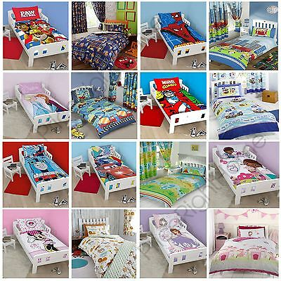 £10.99 • Buy Character Disney Junior Toddler Bed Duvet Covers Bedding Sofia Cars Paw Patrol