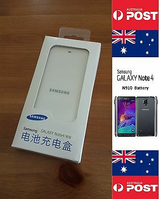 AU18 • Buy Samsung Note 4 N910 Original Retail White Charger Dock - Local Seller