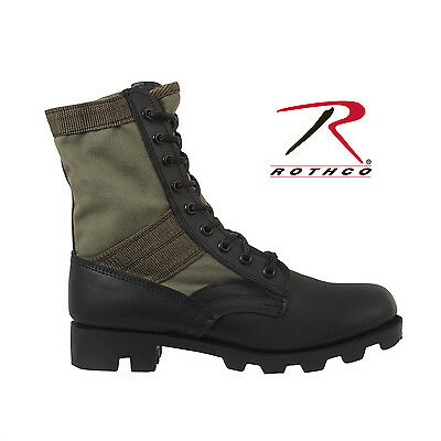 $39.99 • Buy Rothco 5080 G.I. Style Jungle Military Combat Boots - Olive Drab