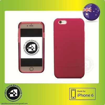 AU5.99 • Buy 2 In 1 Anti Shock Iphone 6 6s Plus Hard Case Kickstand Stand Card Holder 5.5
