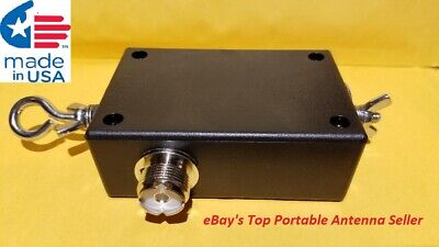 AU55.52 • Buy ALL STAINLESS HARDWARE End Fed Dipole 80-6M Portable HF Matchbox.