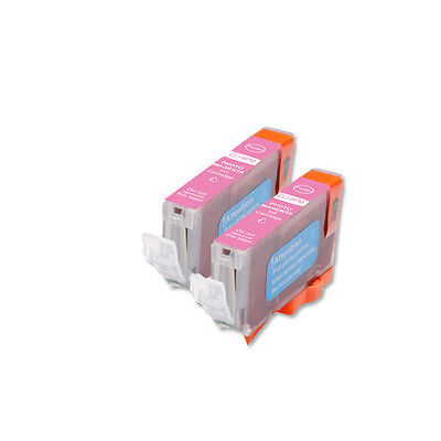 £4.64 • Buy 2P PHOTO MAGENTA Quality Ink Cartridge For Canon CLI-8 Pro9000 Mark II