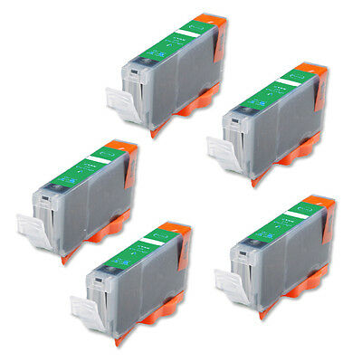 £5.46 • Buy 5P GREEN Quality Ink Cartridge For Canon CLI-8 Pro9000 Mark II