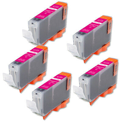 £5.46 • Buy 5P MAGENTA Quality Ink Cartridge For Canon CLI-8 IP6600D IP6700D MP500 Pro9000