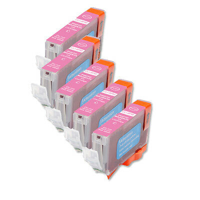 £5.46 • Buy 5P PHOTO MAGENTA Quality Ink Cartridge For Canon CLI-8 Pro9000 Mark II
