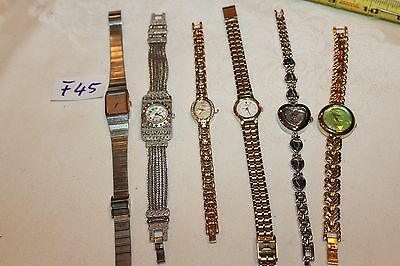 $ CDN35.18 • Buy Lot Of 6 Watches, Seiko, Gruen And More F45